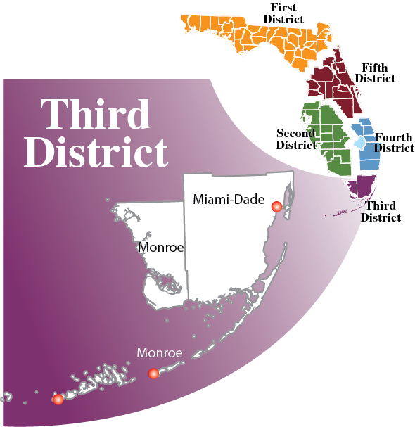 Regional Counsel 3rd District Map